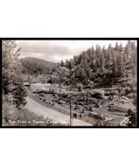Tiny Town Real Photo Postcard Colorado Tourists Turkey Creek Canon Sanbo... - $24.50