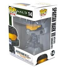 Funko Pop! Halo Spartan Mark VII w VK78 Commando Rifle #14 Vinyl Action Figure image 2