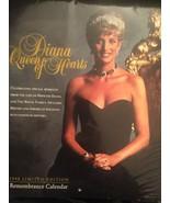 Princess Diana Calendar 1998 Limited Edition Re... - $20.46