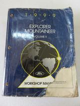 1999 Ford Explorer Mountaineer Shop Service Repair Manual OEM Factory Vo... - $11.35
