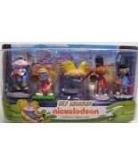Hey Arnold Action Figures Nickelodeon Collector Figure Set 5 Piece New - $12.99