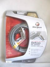 New Sealed Notebook Security Combination Cable Lock - College School - $12.50