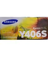Samsung CLT-Y406S - yellow - original - toner cartridge (LOC TUB L-25) - $30.84