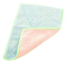 Set of 4 Bamboo Fiber Cleaning Cloth Eco Kitchen Dish Cloth Pink and Blue - $20.38