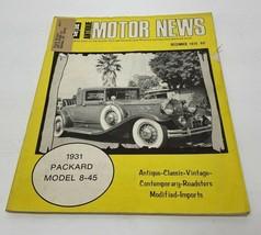 Antique Motor News December 1974   - $15.79