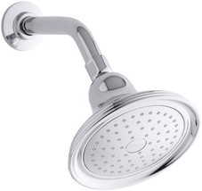 KOHLER K-10391-AK-CP Devonshire Single-Faucet Katalyst Showerhead, Polished Chro - $52.66