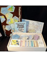 1987 National Geographic Global Pursuit Geography New Open Box Sealed Pi... - $14.99