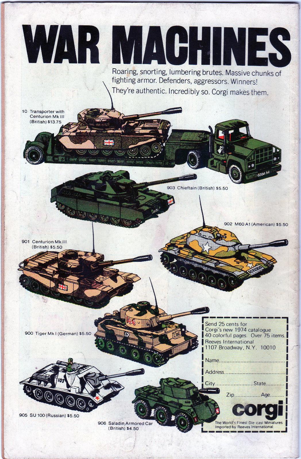G.I. Combat #176 (1975) Comic Book