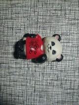 """Be Mine"" Pammy Panda Valentine Pin - Shirt Tales 1982 by Hallmark - Pla... - $6.53"