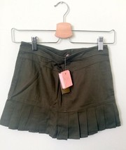 JUICY COUTURE Skirt sz 10 girls army green - $24.99