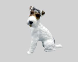 Rosenthal Fox Terrier Dog Vintage Porcelain Classic Rose Collection Germ... - $126.72