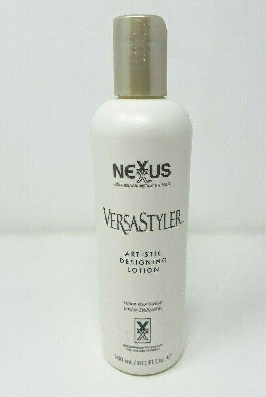 Nexxus Versastyler Artistic Designing Lotion 10.1oz Bottle FULL Hair Product - $99.99