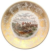 Spode Hunting Scenes The Find Produced from Engravings After J F Herring LE of 2 - $108.29