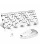 Loreran Ultra-Thin 2.4G Wireless Keyboard and Mouse Combo Chiclet Keyboa... - $21.22