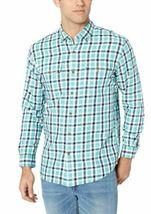 Amazon Essentials Men's Regular-Fit Long-Sleeve Plaid Two-Pocket Twill Shirt image 3