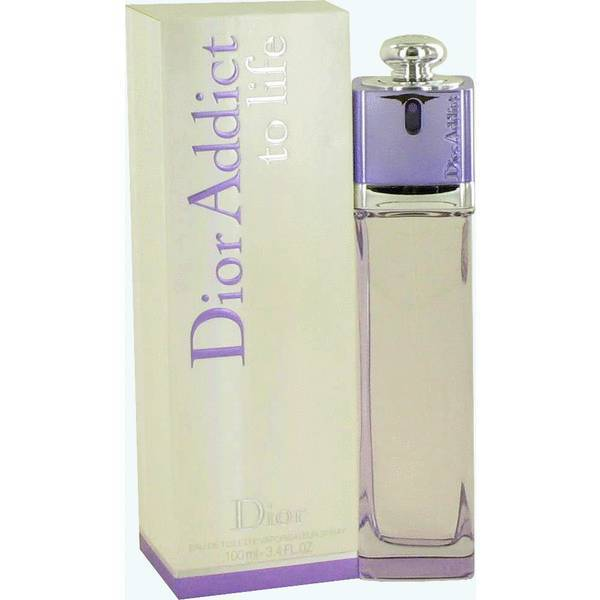 Christian Dior Addict To Life Perfume 3.4 Oz Eau De Toilette Spray
