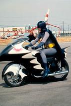 Batman Adam West Bat Cycle Rare 18x24 Poster - $23.99