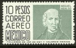 1975 Miguel Hidalgo Mexico Airmail Postage Stamp Catalog Number C479 MNH