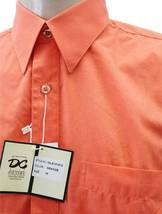 NEW NWT DESIRE MEN'S CLASSIC LONG SLEEVE BUTTON UP CASUAL DRESS SHIRT MANDARIN image 4