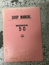 1968 1969 1970 1971 1972 HONDA Z50A Z 50 A Service Shop Repair Manual OEM - $89.05