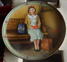 Norman Rockwell Collector Plate- Young Girls Dream - Knowles - €17,77 EUR