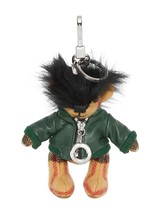 Burberry Thomas Bear Bag Charm Biker Moto Leather Jacket Key Fob ~NWT~ NIB - $222.75