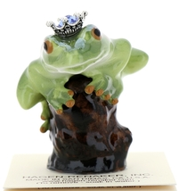 Hagen-Renaker Miniature Tree Frog Figurine Birthstone Prince 09 September
