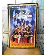 Charlotte Motor Speedway May 21 1994 Winston Select Nascar Poster Vintage - $19.79