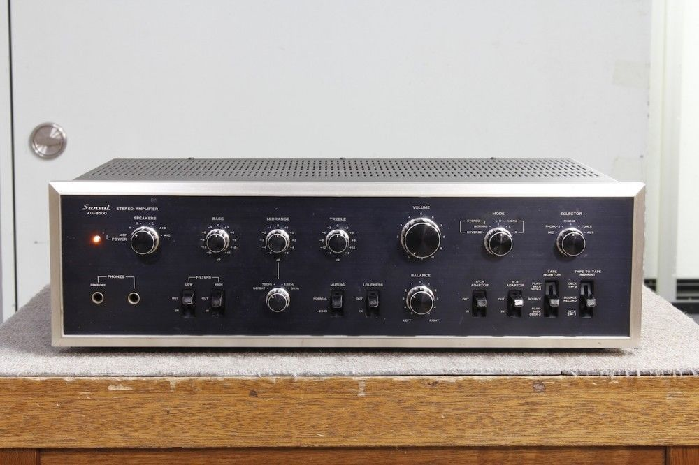 SANSUI AU-8500 Vintage Integrated Amplifier and 50 similar items