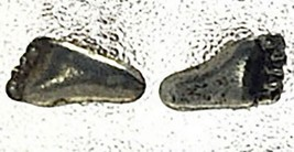 NICE Foot feet prints Sterling Silver Stud Earring Jewelry - $19.75