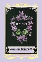 Icy-Hot Talcum Powder by Buedingen Box & Label Co. - Art Print - $19.99+