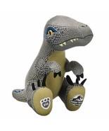 Build a Bear Jurassic World Blue Velociraptor Dinosaur From Park New Wit... - $49.49
