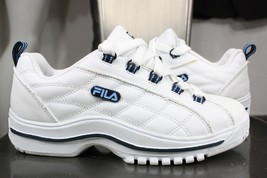vintage Fila sneakers 7 6.5 new leather white 90's  - $60.00