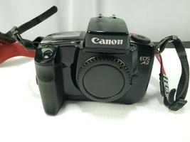 Canon EOS A2 35mm Film Autofocus SLR Camera Body Only Black  - $55.80