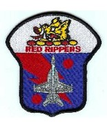 """4.5"""" NAVY VFA-11 KEYHOLE RED RIPPERS MILITARY EMBROIDERED JACKET PATCH - $23.74"""