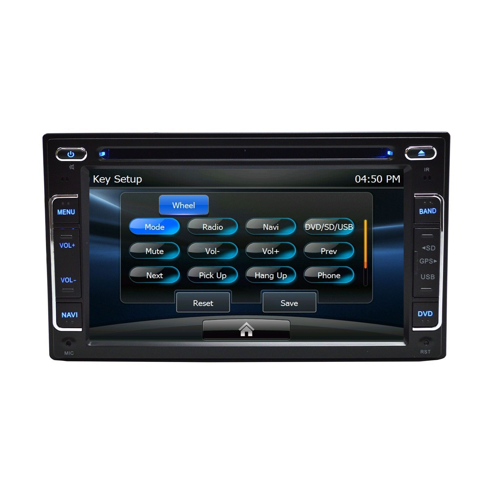 """6.2"""" DVD Navigation Touchscreen Multimedia Radio for 2012 Ford Taurus image 8"""