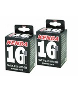 "2x Kenda 16"" Inner tubes BENT VALVE replacement wheels tires strollers b... - $21.77"