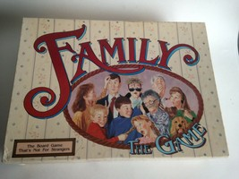 Family The Game Board Game by TDC Games 1990 Complete - $21.98