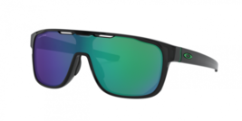 Oakley Crossrange Shield Sunglasses Black Prizm Jade Iridium OO9387-1231... - $89.09