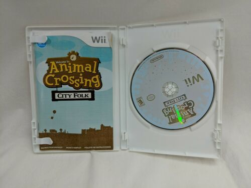 Animal Crossing City Folk Wii image 2