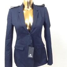 $1,295 BURBERRY PRORSUM Women's Blazer In INK Size 40 - $513.09