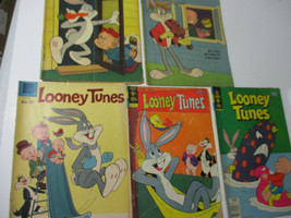 Looney Tunes Bugs Bunny Vintage Comic Lot 10 27 202 219 236 Dell Gold Key 1958 - $33.46