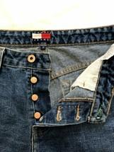 Vintage Mens Tommy Hilfiger Size 30 Blue Jean Shorts - $23.36