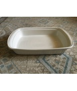 "1980s Corning Ware French White 16"" Rectangular Baker (Roaster, Lasagne) - $50.00"
