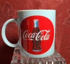 1992 COCA COLA Coke COFFEE MUG Original Ceramic image 2