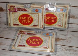 Tiger Electronics Family Feud #1 #2 #3 Lot of 3 Answer Book & Cartridge ... - $25.99