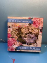 Garden Retreat Jigsaw Puzzle Inspired by Debbie Macomber  NEW - $7.92
