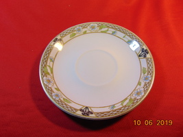 """5 3/4"""" Saucer, from J & G Meakin, in the Pacific Pattern. - $2.99"""