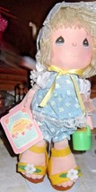 Precious Moments Birthday Doll For June Cloth Doll  - $14.01