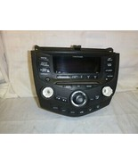 03-07 Honda Accord Radio 6 Disc Cd Face Plate Replacement 7BY1 CAP24 - $79.20